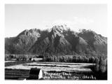 Metanuska Valley, Alaska - View of Pioneer Peak Poster by  Lantern Press