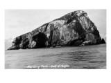 Alaska - Gulf of Alaska View of Harding Rock Prints