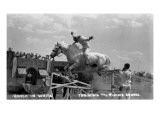 Nebraska - White Horse Ranch; Riding in White Prints