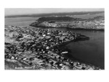 Kodiak, Alaska - Aerial View of Town Posters by  Lantern Press