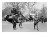 Parade of a Tank In a Washington Liberty Bond Parade Prints