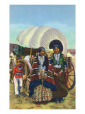 Navajo Women in Traditional Dress Posters