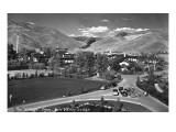 Sun Valley, Idaho - Sun Valley Lodge View of the Village Print