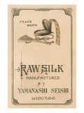Raw Silk Manufactured By Yamanashi Seishi Limited Prints