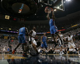Oklahoma City Thunder v Memphis Grizzlies - Game Three, Memphis, TN - MAY 7: James Harden Photographic Print by Joe Murphy