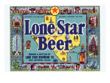 Lone Star Beer Art