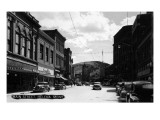 Helena, Montana - Main Street Prints by  Lantern Press