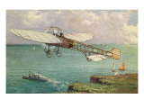 View of the Bleriot Aeroplane Pôsters por  Lantern Press
