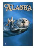 Alaska - Sea Otter Posters