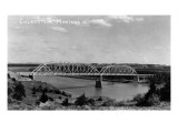 Culbertson, Montana - View of a Bridge Prints by  Lantern Press