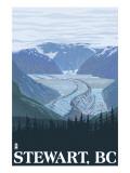 Stewart, BC - Glacier Scene Prints