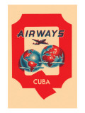 Q Airways Cuba Prints