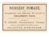 Nursery Pomade Poster