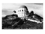 Hollywood, California - Griffith Park Observatory and Planetarium Poster