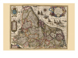 Map of Picardy, France Photo by Pieter Van der Keere