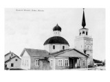 Sitka, Alaska - Russian Church Exterior View Prints