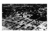 Greeley, Colorado - Aerial Prints