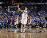 Los Angeles Lakers v Dallas Mavericks - Game Three, Dallas, TX - MAY 6: Dirk Nowitzki Photographic Print by Danny Bollinger
