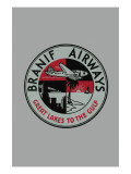Branif Airways - Great Lakes To the Gulf Prints