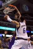 Los Angeles Lakers v Dallas Mavericks - Game Three, Dallas, TX - MAY 06: Tyson Chandler and Lamar O Photographic Print by Ronald Martinez