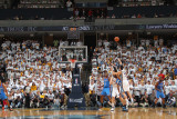 Oklahoma City Thunder v Memphis Grizzlies - Game Four, Memphis, TN - MAY 9: Greivis Vasquez and Rus Photographic Print by Joe Murphy