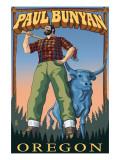 Paul Bunyan - Oregon Print