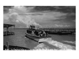 Port Isabel, Texas - Leaving Colley Boat Dock to Padre Island Posters by  Lantern Press