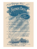 Reasons Why Friends' Oats Are the Best Prints