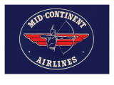 Mid-Continent Airlines Print