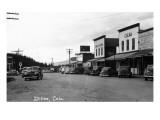 Dillon, Colorado - Street Scene Kunstdrucke