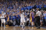 Los Angeles Lakers v Dallas Mavericks - Game Three, Dallas, TX - MAY 6: Jason Terry Photographic Print by Glenn James