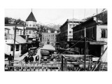 Ketchikan, Alaska - View of Dock Street Posters