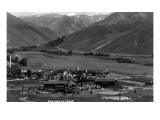 Sun Valley, Idaho - Panoramic View of Valley in Summer Prints
