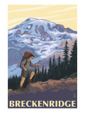 Breckenridge, Colorado - Mountain Hiker Posters