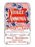 Violet Ammonia Posters