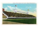 Bowling Green, Kentucky - Western Kentucky State Stadium View Poster