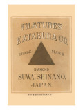 Filature Katakura Co. Diamon, Suwa Shinano, Japan Posters