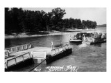Arkansas - Henderson Ferry near Batesville Print