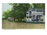 Canton, Ohio - View of Meyers Lake Pike Prints by  Lantern Press