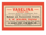 Vaselina Petroleum Jelly Posters