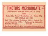Tincture Merthiolate Prints