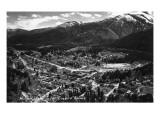 Mullan, Idaho - Panoramic View of Town Prints by  Lantern Press