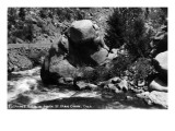 Colorado - Elephant Rock in South St Vrain Canyon Poster