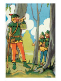 Calling the Merry Men Prints