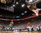 Boston Celtics v Miami Heat - Game Five, Miami, FL - MAY 11: LeBron James Photographic Print by Mike Ehrmann