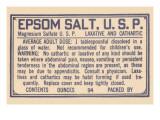 Epsom Salt U.S.P. Prints