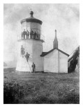 Cape Meares Lighthouse, Oregon No.2 Art by  Lantern Press