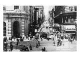 San Francisco, California - Powell Street Cable Cars Kunstdrucke von  Lantern Press