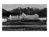 Sitka, Alaska - Pioneers Home Exterior View Print by  Lantern Press