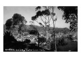 Santa Catalina Island, California - View of Avalon Prints by  Lantern Press
